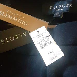 Talbots womens  slacks  slimming